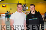 Wayne Murphy,strength and conditioning coach and Michael Walsh, Physio at the International friendly ahead of European Championship, Ireland V Scotland at Castleisland Community Centre on Friday