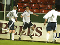 27/11/2004  Copyright Pic : James Stewart.File Name : jspa16_falkirk_v_ross_county.STUART MALCOLM CELEBRATES AFTER HE SCORES COUNTY'S EQUALISING SECOND GOAL......Payments to :.James Stewart Photo Agency 19 Carronlea Drive, Falkirk. FK2 8DN      Vat Reg No. 607 6932 25.Office     : +44 (0)1324 570906     .Mobile   : +44 (0)7721 416997.Fax         : +44 (0)1324 570906.E-mail  :  jim@jspa.co.uk.If you require further information then contact Jim Stewart on any of the numbers above.........