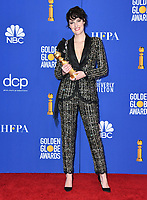 05 January 2020 - Beverly Hills, California - Phoebe Waller-Bridge. 77th Annual Golden Globes - Press Room held at Beverly Hilton Hotel. Photo Credit: Birdie Thompson/AdMedia