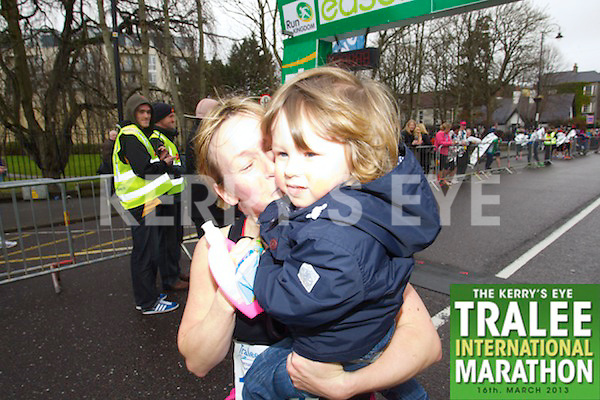 Debbie O'Halloran 1611, who took part in the Kerry's Eye Tralee International Marathon on Sunday 16th March 2014.