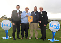 during the Connacht Final of the AIG Barton Shield at Galway Bay Golf Club, Galway, Co Galway. 11/08/2017<br /> Picture: Golffile | Thos Caffrey<br /> <br /> <br /> All photo usage must carry mandatory copyright credit (&copy; Golffile | Thos Caffrey)
