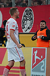 08.02.2019, RheinEnergieStadion, Koeln, GER, 2. FBL, 1.FC Koeln vs. FC St. Pauli,<br />  <br /> DFL regulations prohibit any use of photographs as image sequences and/or quasi-video<br /> <br /> im Bild / picture shows: <br /> 4:1 durch Simon Terodde (FC Koeln #9), Torjubel / Jubel / Jubellauf,    <br /> <br /> Foto © nordphoto / Meuter