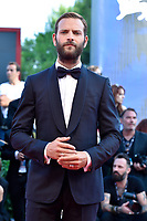 Italian actor Alessandro Borghi walks on the red carpet of the movie 'Downsizing' and opening ceremony of the 74th Venice Film Festival, Venice Lido, August 30, 2017. <br /> UPDATE IMAGES PRESS/Marilla Sicilia<br /> <br /> *** ONLY FRANCE AND GERMANY SALES ***