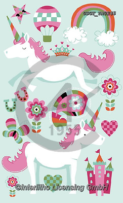 Lamont, GIFT WRAPS, GESCHENKPAPIER, PAPEL DE REGALO, paintings+++++,USGTTM0245,#gp#, EVERYDAY ,notebook,notebooks,unicorn,unicorns ,sticker,stickers