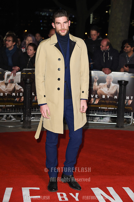Ryan Barrett at the &quot;Live by Night&quot; premiere at BFI South Bank, London, UK. <br /> 11th January  2017<br /> Picture: Steve Vas/Featureflash/SilverHub 0208 004 5359 sales@silverhubmedia.com