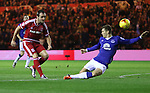 - Capital One League Cup - Middlesbrough v Everton - Riverside Stadium - Middlesbrough - England - 1st of December  2015 - Picture Jamie Tyerman/Sportimage