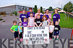 Locals in Duagh are in training for their Fun Run/Walk on September 28th in aid of the school. Pictured were: Cody Collins, Abbie McElligott, Hayley McElligott, Sadie O'Connor, Jack O'Carroll, Niamh Buckley, Sinead Buckley and Cian O'Carroll.
