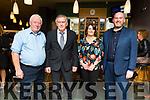 Mike Leen, Pascal Nolan, Maria and Tom O'Donoghue enjoying the Crotta O'Neills GAA social in the Ballyroe Heights Hotel on Saturday night.