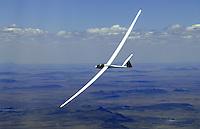 4415 / ASH25: AFRIKA, SUEDAFRIKA, 01.01.2007:doppelsitziges Segelflugzeug vom Typ ASH 25 in Suedafrika,
