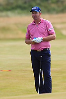 Padraig Harrington (IRL) on the 10th fairway during Round 2 of the Dubai Duty Free Irish Open at Ballyliffin Golf Club, Donegal on Friday 6th July 2018.<br /> Picture:  Thos Caffrey / Golffile