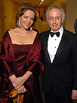 Renee Fleming and dean Robert Yekovich at the Rice University Shepherd School of Music gala Thursday Feb. 19, 2009.(Dave Rossman/For the Chronicle)