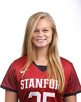 STANFORD, CA - August 16, 2019: Caroline Reinhart on Field Hockey Photo Day.