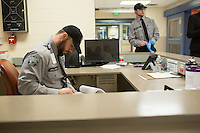Guards at the new hospital at Central Prison in Raleigh, NC on Thursday, November 17, 2016. (Justin Cook)