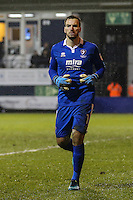 Scott Brown of Cheltenham Town during the Sky Bet League 2 match between Luton Town and Cheltenham Town at Kenilworth Road, Luton, England on 31 January 2017. Photo by David Horn / PRiME Media Images