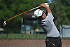 Sanghyeon Park of Cardozo High School (Bayside, NY) tees off on the 1st Hole of Bethpage State Park's Black Course during the New York State Federation Golf Tournament on Sunday, June 7, 2015. He posted a score of 6-over 77 to win the competition.<br />