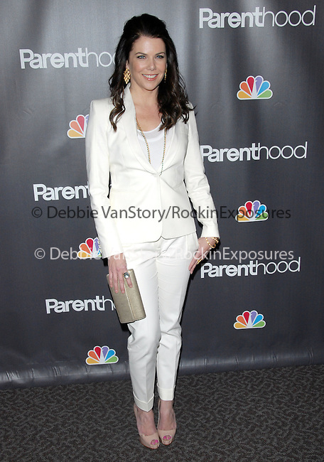 "Lauren Graham at the NBC Universal's ""Parenthood"" Premiere Screening held at The DGA in West Hollywood, California on February 22,2010                                                                   Copyright 2009  DVS / RockinExposures"