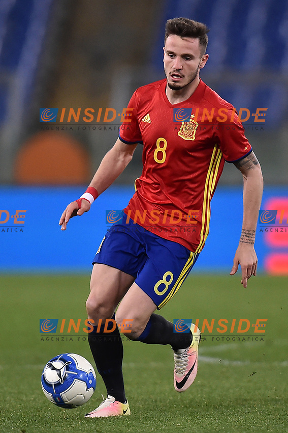 Saul Niguez Spagna <br /> Roma 27-02-2017, Stadio Olimpico<br /> Football Friendly Match  <br /> Italy - Spain Under 21 Foto Andrea Staccioli Insidefoto
