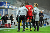 20200304 Faro , Portugal : Portugese forward Jessica Silva (10) pictured during the female football game between the national teams of Portugal and Italy on the first matchday of the Algarve Cup 2020 , a prestigious friendly womensoccer tournament in Portugal , on wednesday 4 th March 2020 in Faro , Portugal . PHOTO SPORTPIX.BE | STIJN AUDOOREN