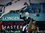 Roger-Yves Bost of France riding Nikyta d'Elle in action at the Massimo Dutti Trophy during the Longines Hong Kong Masters 2015 at the AsiaWorld Expo on 15 February 2015 in Hong Kong, China. Photo by Xaume OIleros / Power Sport Images