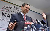 20130527 ROMA-POLITICA: MARINO COMMENTA I RISULTATI DEL PRIMO TURNO DELLE COMUNALI