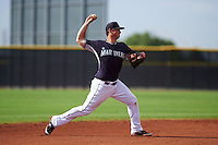 Seattle Mariners Lachlan Fontaine (11) during an instructional league intrasquad game on October 6, 2015 at the Peoria Sports Complex in Peoria, Arizona.  (Mike Janes/Four Seam Images)