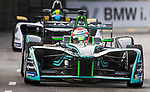 Nelson Piquet Jr of Brazil from Panasonic Jaguar Racing competes during the FIA Formula E Hong Kong E-Prix Round 2 at the Central Harbourfront Circuit on 03 December 2017 in Hong Kong, Hong Kong. Photo by Marcio Rodrigo Machado / Power Sport Images