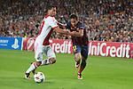 UEFA Champions League 2013/2014.<br /> FC Barcelona vs AFC Ajax: 4-0 - Game: 1.<br /> Van Rhijn vs Neymar.