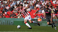 Stoke City's Nathan Collins<br /> <br /> Photographer Stephen White/CameraSport<br /> <br /> The Premier League - Stoke City v Leeds United - Saturday August 24th 2019 - bet365 Stadium - Stoke-on-Trent<br /> <br /> World Copyright © 2019 CameraSport. All rights reserved. 43 Linden Ave. Countesthorpe. Leicester. England. LE8 5PG - Tel: +44 (0) 116 277 4147 - admin@camerasport.com - www.camerasport.com