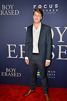 LOS ANGELES, CA. October 29, 2018: Britton Sear at the Los Angeles premiere for &quot;Boy Erased&quot; at the Directors Guild of America.<br /> Picture: Paul Smith/Featureflash