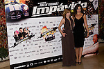 26.07.2012. Premier at Palafox Cinema in Madrid of the movie 'Impavido´, directed by Carlos Theron and starring by Marta Torne, Selu Nieto, Nacho Vidal, Carolina Bona, Julian Villagran and Manolo Solo. In the image Carolina Bona and Marta Tome (Alterphotos/Marta Gonzalez)