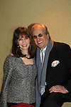 Barbara Feldon poses with Danny Aiello on March 21, 2013 at the HeartShare 25th Annual Spring Gala and Auction at the New York Marriott, NYC, NY.  (Photo by Sue Coflin/Max Photos)