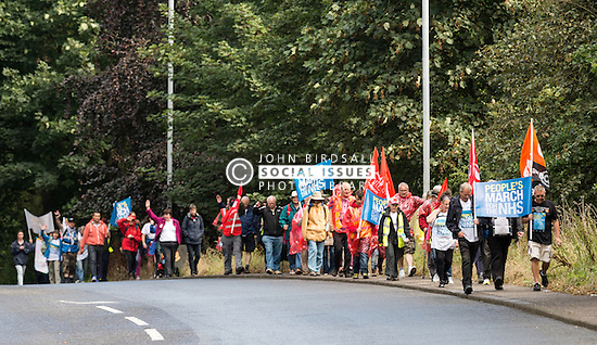 People's March for the NHS, Darlington 2014