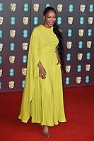 Naomie Ackie<br /> arriving for the BAFTA Film Awards 2020 at the Royal Albert Hall, London.<br /> <br /> ©Ash Knotek  D3554 02/02/2020