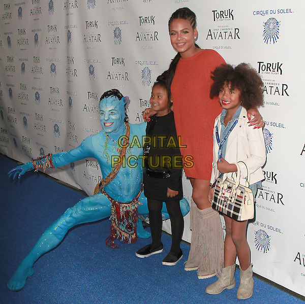 11 November 2016 - Los Angeles, California - Christina Milian. Cirque du Soleil &quot;Toruk - The First Flight&quot; Opening Night held at Staples Center. <br /> CAP/ADM/PMA<br /> &copy;PMA/ADM/Capital Pictures