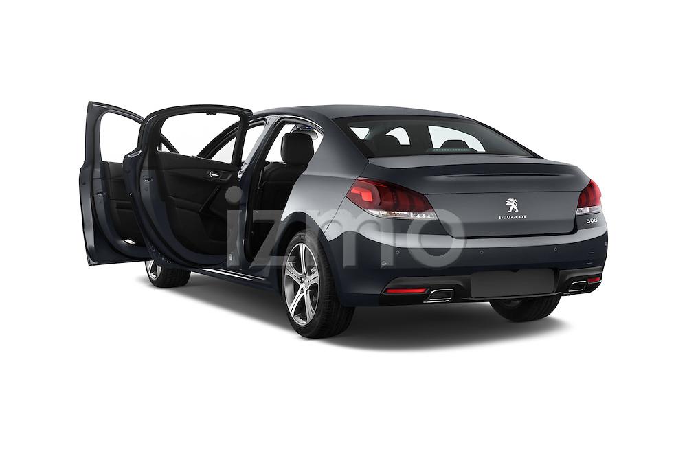 Car images of a 2015 Peugeot 508 GT 4 Door Sedan 2WD Doors