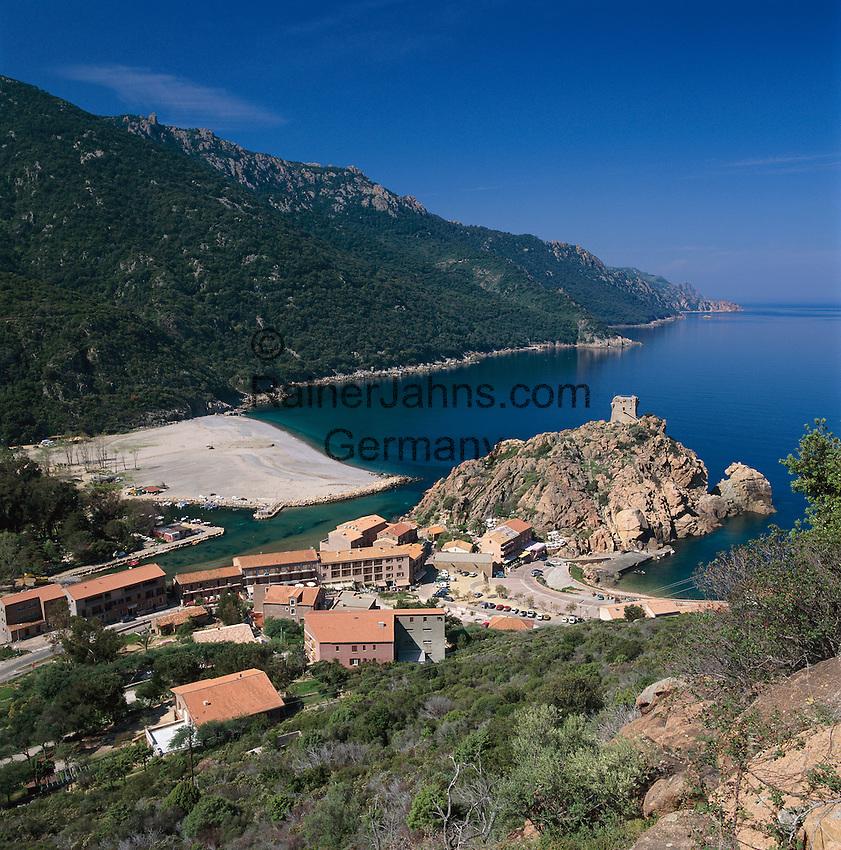 France, Corsica, Porto: at Gulf of Porto - UNESCO World Natural Heritage | Frankreich, Korsika, Porto: am Golf von Porto - UNESCO Weltnaturerbe