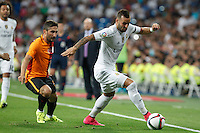 Real Madrid´s Jese during Santiago Bernabeu Trophy match at Santiago Bernabeu stadium in Madrid, Spain. August 18, 2015. (ALTERPHOTOS/Victor Blanco)