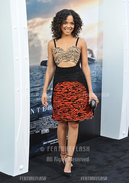 Tessa Thompson at the Los Angeles premiere of Interstellar at the TCL Chinese Theatre, Hollywood.<br /> October 26, 2014  Los Angeles, CA<br /> Picture: Paul Smith / Featureflash