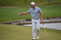 Paul Casey (GBR) after sinking his putt on 12 during day 3 of the WGC Dell Match Play, at the Austin Country Club, Austin, Texas, USA. 3/29/2019.<br /> Picture: Golffile | Ken Murray<br /> <br /> <br /> All photo usage must carry mandatory copyright credit (© Golffile | Ken Murray)