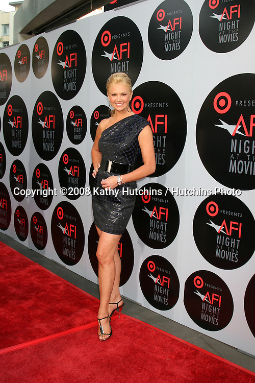 Nancy O'Dell arriving at the AFI Salute to the Movies presented by Target at the ArcLight Theater in Los Angeles,  CA on.October 1, 2008.©2008 Kathy Hutchins / Hutchins Photo....