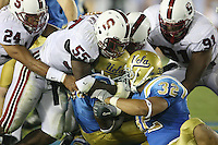 1 October 2006: Michael Okwo during Stanford's 31-0 loss to UCLA at the Rose Bowl in Pasadena, CA.