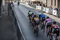early break away group with Oliver Naesen (BEL/AG2R mondiale), Lawrence Naesen (BEL/wb Veranclassic-aqua protect) and David Boucher (BEL/Pauwels Sauzen Vastgoedservice), Sander Cordeel (BEL/Veranda's Willems-Crelan), Sjoerd Bax (NED/Delta Cycling Rotterdam), Joeri Calleeuw (BEL/Roubaix Lille Metropole). <br /> <br /> 102nd Kampioenschap van Vlaanderen 2017 (UCI 1.1)<br /> Koolskamp - Koolskamp (192km)