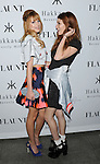 "Bella Thorne and her sister Dani Thorne at the ""Flaunt Magazine November Issue party"" held at Hakkasan restaurant Beverly Hills November 7, 2013"