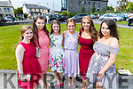 Eimear Nolan, Aisling Williams, Sinead Ryan, Susan Mason, Roisin Lynch and Atlanta Kennedy, pictured at Mounthawk Secondary School, Tralee, graduation Mass at Our Lady & St. Brendan's Church, Tralee on Friday afternoon last.