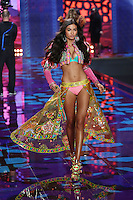 Kelly Gale on the runway at the Victoria's Secret Fashion Show 2014 London held at Earl's Court, London. 02/12/2014 Picture by: James Smith / Featureflash