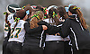 Lindenhurst teammates celebrate after their 2-1 walkoff win over Connetquot in a Suffolk County varsity softball game at Daniel Street Elementary School on Thursday, May 5, 2016.