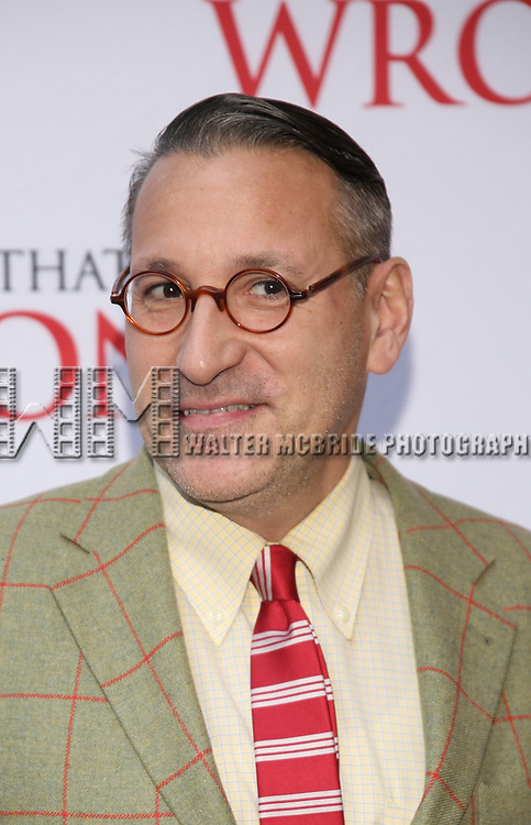 Chip Kidd attends 'The Play That Goes Wrong' Broadway Opening Night at the Lyceum Theatre on April 2, 2017 in New York City.