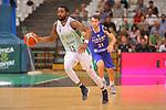 Basketball Champions League 2017/18 - Previus.<br /> Divina Seguros Joventut vs Dinamo Tbilisi: 86-66.<br /> Patrick Richard vs Nodar Gododze.