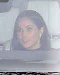 20.12.2017; London, England: MEGHAN MARKLE JOINS ROYALS FOR CHRISTMAS PARTY<br />Meghan Markle, Prince Harry&rsquo;s fiance accompanied him to the Christmas Staff Party at Buckingham Palace.<br />Members of the extended royal family were also in attendance. <br />Mandatory Photo Credit: &copy;Francis Dias/NEWSPIX INTERNATIONAL<br /><br />IMMEDIATE CONFIRMATION OF USAGE REQUIRED:<br />Newspix International, 31 Chinnery Hill, Bishop's Stortford, ENGLAND CM23 3PS<br />Tel:+441279 324672  ; Fax: +441279656877<br />Mobile:  07775681153<br />e-mail: info@newspixinternational.co.uk<br />Usage Implies Acceptance of Our Terms &amp; Conditions<br />Please refer to usage terms. All Fees Payable To Newspix International