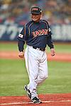 Osamu Higashio (JPN), .February 26, 2013 - WBC : .2013 World Baseball Classic, Exhibithion Game .match between Japan 0-1 Hanshin Tigers  .at Kyocera Dome, Osaka, Japan..(Photo by AJPS/AFLO SPORT)